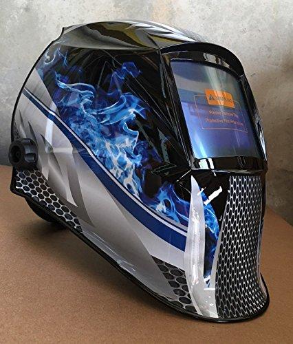 USA Seller: 4 Optical sensors Auto Darkening Solar Powered Welders Welding Helmet Mask with Grinding Function
