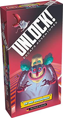 Asmodee Unlock! - In der Mausefalle, Rätselspiel, Deutsch