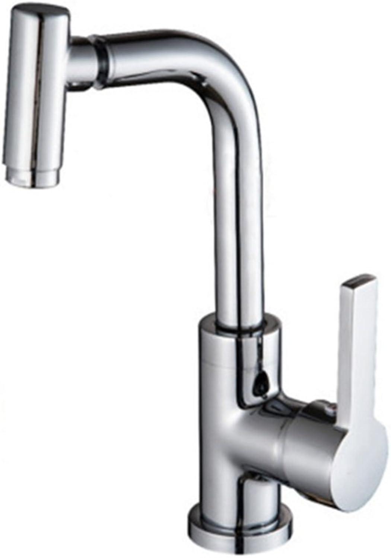 PLYY Faucet Bathroom Copper Faucet Washbasin Washbasin Faucet Universal Kitchen Faucet