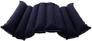 HYYQG Cojín de Asiento Almohada Inflable, Estera cómoda del cojín Colchón de Aire antiescaras Alivio del Dolor en el Punto de presión para sillas de Ruedas, automóviles, oficinas