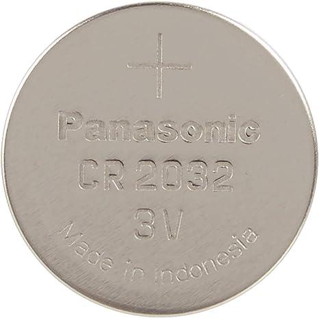 Panasonic Cr2032 Lithium Knopfzelle 3v 100 Stück Elektronik