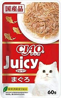 CIAO(チャオ) Juicy(ジューシー) まぐろ 60g×16袋【まとめ買い】【在庫限り】