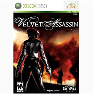 New Southpeak Interactive Velvet Assassin Action/Adventure Game Xbox 360 Excellent Performance