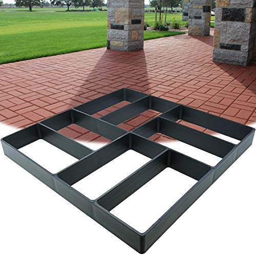 Awaken Concrete Molds 15.7'x15.7', Stepping Stone Molds, Paving Mold Concrete, Paver Mold, Garden Path Mold, Stepping Stone Walk Maker, Heavy Duty Plastic, Durable, Resusable