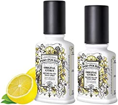 Poo-Pourri Preventive Bathroom Odor Spray 2-Piece Set, Includes 2 4-Ounce Bottle, Original, Clear