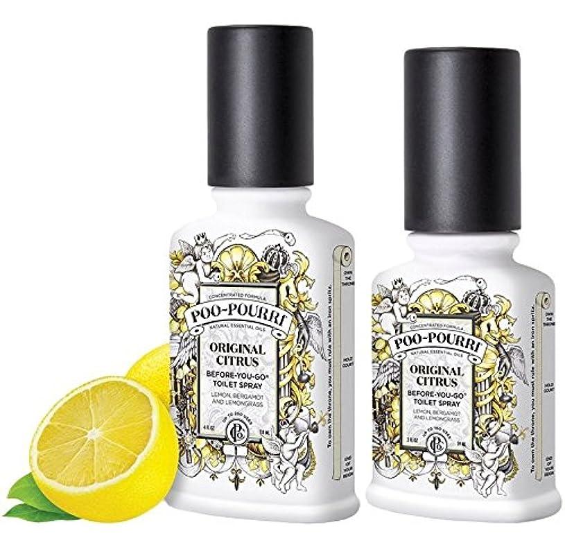 羊飼いベアリング三番(Original) - Poo-Pourri Preventive Bathroom Odour Spray 2-Piece Set, Includes 60ml and 120ml Bottle, Poo-Pourri Original