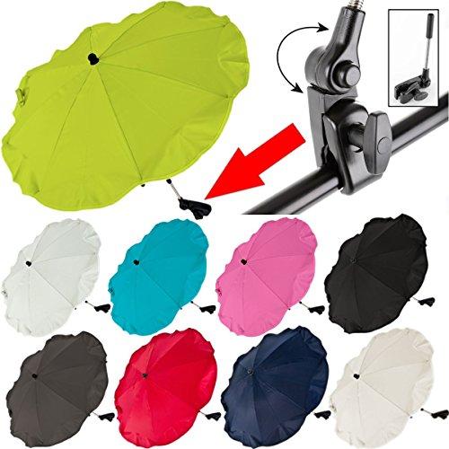 Ombrello Da Sole Universale Per Passeggino (Uv 50+) (ROSSO)