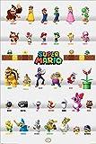 Unbekannt Laminiert Super Mario Character Parade Maxi