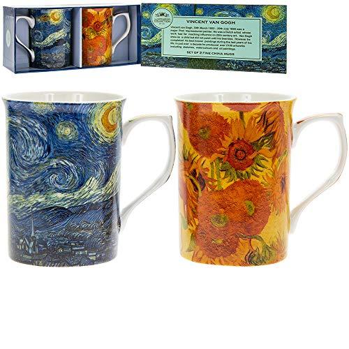 LEONARDO Castello LP92364A Van Gogh-Set di 2 Tazze