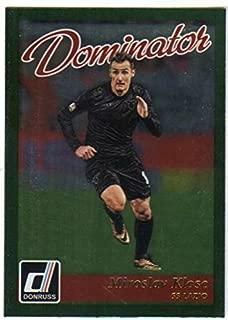 2016-17 Donruss Dominators Soccer #42 Miroslav Klose SS Lazio Official Futbol Card From Panini America