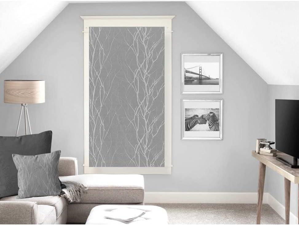 60/x 120/cm Cotone Soleil d Ocre Segreto Brise-Bise Ecru