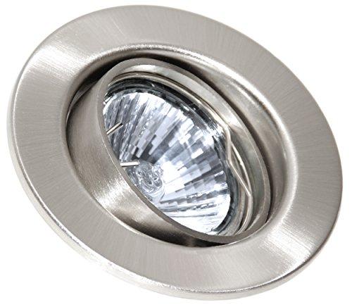 230V LED oder Halogen Einbaustrahler