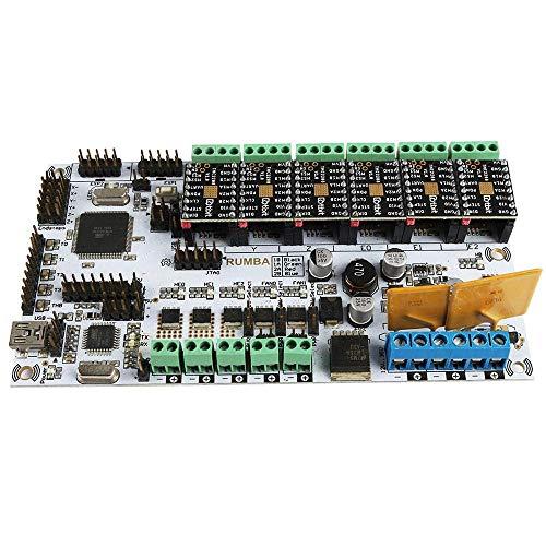 Yongenee MKS RUMBA Motherboard + 6x TMC2208 Driver Kit Driver Modules