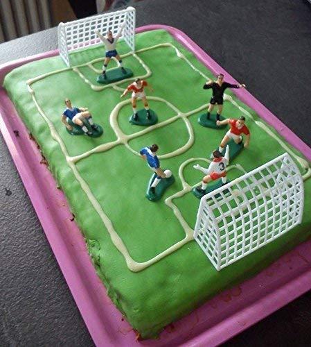 Fußballset 9-teilig – ideal als Kuchendeko - 4