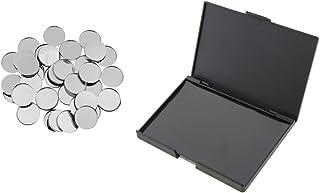 Homyl 磁気パレット メイクアップパレット 空缶 メタルパン 化粧品 DIY 高品質 プラスチック+マグネット