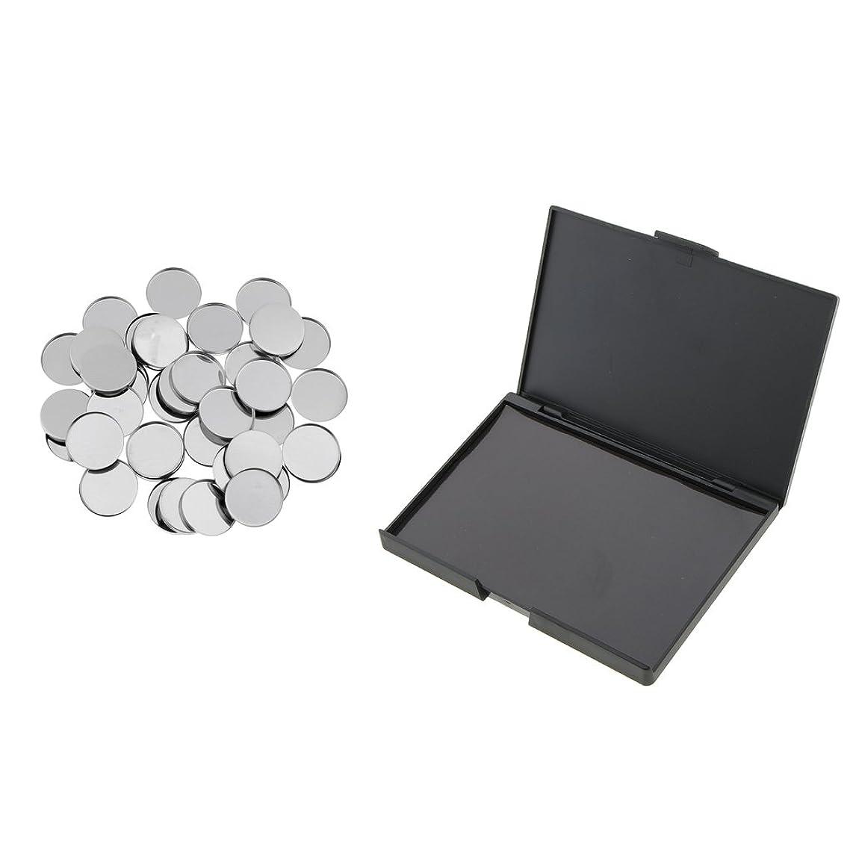 であることドリル悲しいことにHomyl 磁気パレット メイクアップパレット 空缶 メタルパン 化粧品 DIY 高品質 プラスチック+マグネット