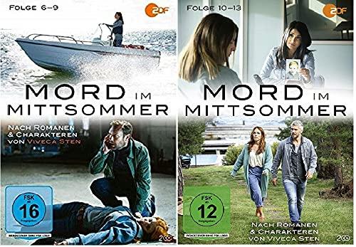 Mord im Mittsommer 6-13 / Folgen 6-13 / Box 3+4 [DVD Set]