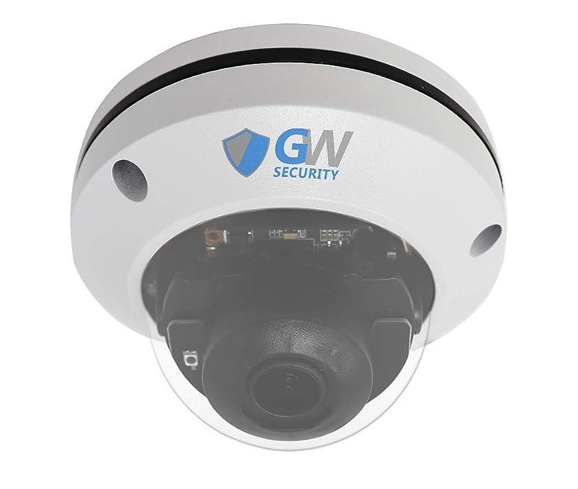 GW Security H.265 5MP Super HD 1920P IP High Speed Onvif Network PoE Dome PTZ Camera 5X Optical Zoom Waterproof Vandalproof Outdoor/Indoor