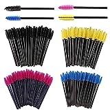 SIMIN 200 PCS brochas desechables para pestañas, para aplicar cejas, brochas de maquillaje,...