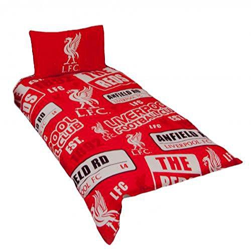 Liverpool FC Official Single Duvet Set