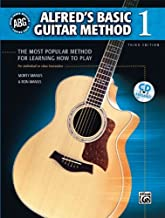 Alfred's Basic Guitar Method, Bk 1: The Most Popular Method for Learning How to Play (Enhanced CD): 0