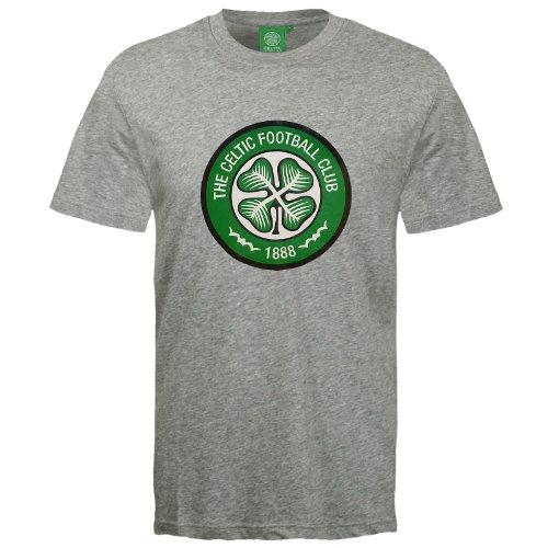 Celtic Football Club Official Soccer Gift Mens Crest T-Shirt