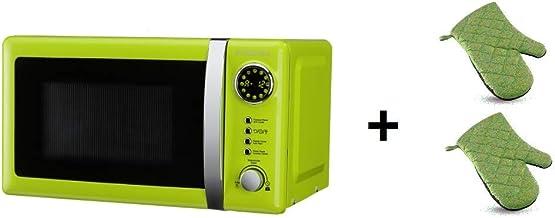 ElectrodomesticosN1 Pack Microondas Jocel JMO001337, 20 Litros, Verde, 800 w + juego 2 manoplas