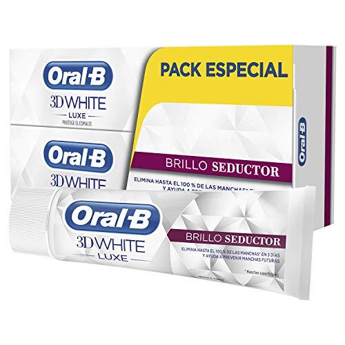 Oral-B 3DWhite Luxe Brillo Seductor Pasta Dentífrica Blanqu