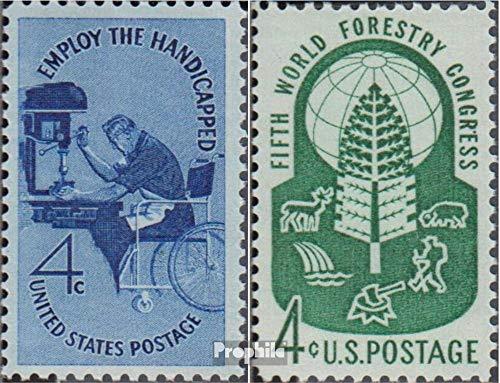 Prophila Collection EEUU 785,786 (Completa.edición.) 1960 Físicamente, Forstkongress (Sellos para los coleccionistas) Salud