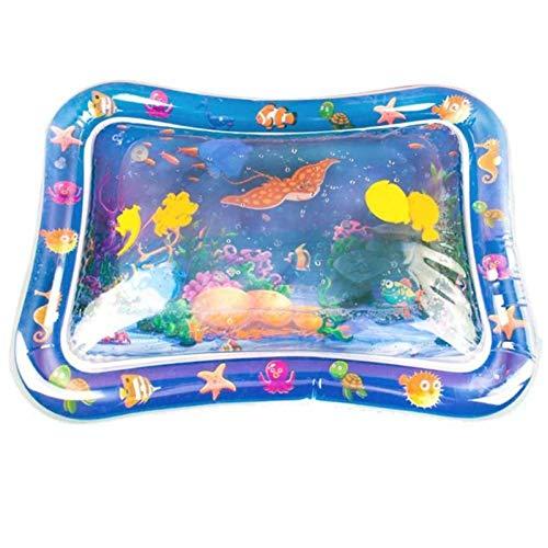 HYLEI Baby Kids Summer Water Play Mat Colchoneta Inflable para bebés y niños pequeñosActividad Divertida para bebés Jugar Cojín de Piscina Juguetes para bebés