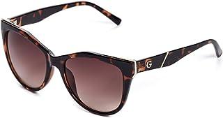 G by Guess Ladies Tortoise Cat Eye Sunglasses GG116052F55