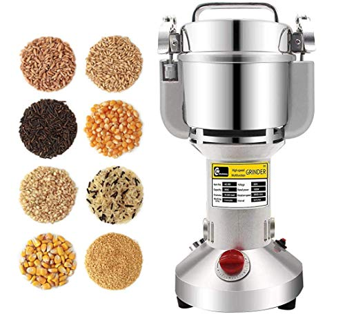 CGOLDENWALL Electric Cereal Grain Grinder 300g Herb Spice Mill Pulverizer...