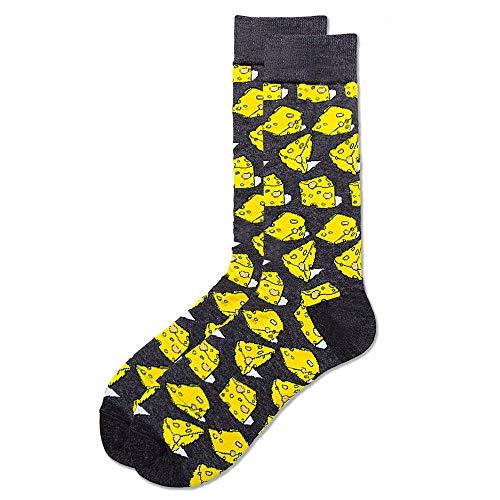 B/H Anzug-Socken,Herbst- und Wintertrend von Baumwollsocken für Herren und Damen, Cartoon-Socken aus Baumwolle-f8 Pair_38-45,Lustige Socken