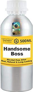 Parag Fragrances Handsome Boss Attar 500 ml Wholesale Pack Attar (Alcohol Free Long Lasting Attar for Men - Women & Relig...
