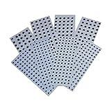 Creation Station - Pack de Ojos Adhesivos (240 Unidades de 10 mm y 350 Unidades de 15 mm, Pack de 590 Unidades en Total), Color Negro