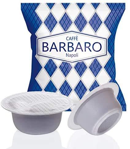CAFFE\' BARBARO Napoli 100 CAPSULE COMPATIBILI BIALETTI CREMOSO ---- ATTENZIONE NON COMPATIBILE CON LA NUOVE MACCHINE BIALETTI CON SENSORE DI RICONOSCIMENTO CAPSULE IN ALLUMINIO