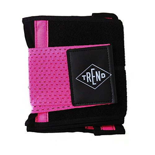 Trend FTREND-RS-S - Faja deportiva para fitness y musculación, color rosa, talla S