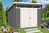 CARLSSON Gartenhaus Modell Maria-Optima28, 28 mm Wandstärke (320 x 320 cm)