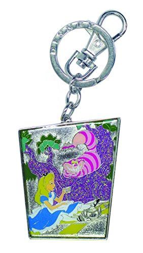 Price comparison product image Disney Alice with Cheshire & Tea Pot Key Ring,  Pewter