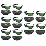 10pcs OD5+ IPL CE CE UV400 200nm-2000nm Laser Protection Goggles Safety Glasses