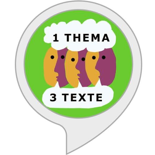 1 Thema 3 Texte - der Podcast