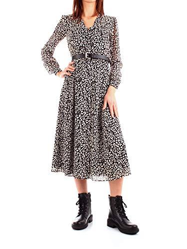 Michael Kors MH98Y46DDM Vestido Mujer Negro L