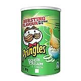 Pringles Sour Cream & Onion 70 Gr – Cassa da 12 tubi