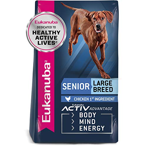 Eukanuba Senior Large Breed Dry Dog Food, 30 lb....