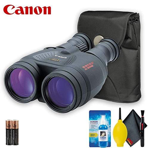 Canon 18x50 is Image Stabilized Binocular Base Accessory Bundle