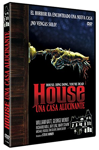 House, Una Casa Alucinante DVD 1986 House: Ding Dong, You're Dead