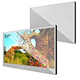 Elecsung 27inch Smart Mirror TV for Bathroom IP66 Waterproof Android System with Integrated HDTV(ATSC) Tuner and Built-in Wi-Fi&Bluetooth