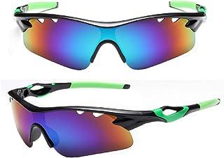09f793dc80 Vaycally Gafas deportivas para ciclismo Gafas deportivas, gafas  profesionales para ciclismo con una hoja de