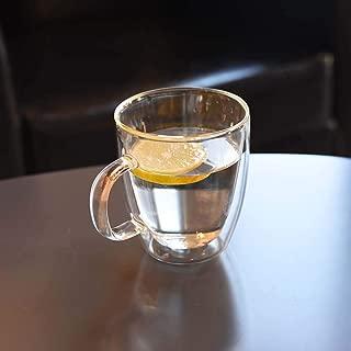 Glass Coffee Mug, Borosilicate Glass, 12 oz (350 ml)