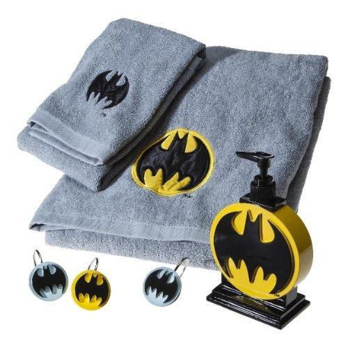 Amazon Batman Embroidered Towel Set